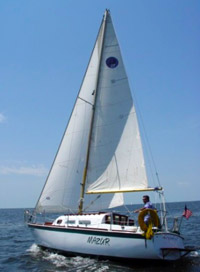 O'Day 27' available for bareboat charters