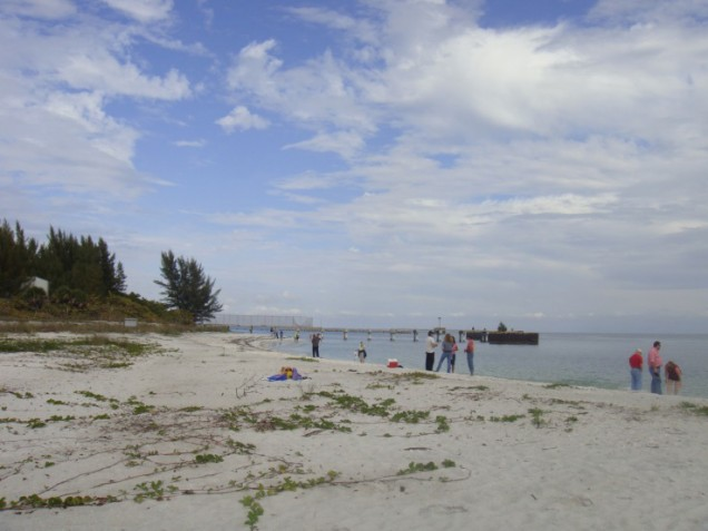 Beach at the New Boca Grande Lighthouse