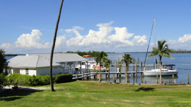 Catalina Moored at Cabbage Key Marina