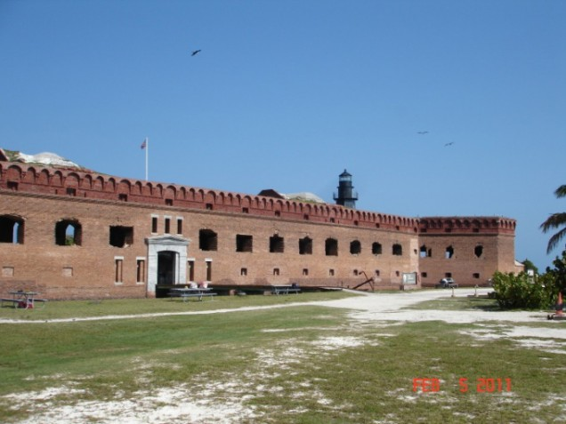 Ft. Jefferson on Garden Key