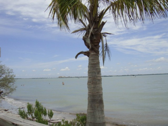 From Sanibel Looking Toward the Causeway & Ft. Myers