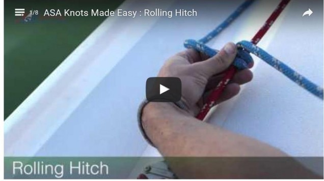 Rolling Hitch