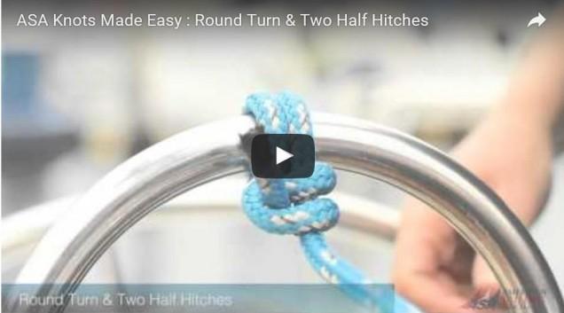 Round Turn 2 Half Hitches