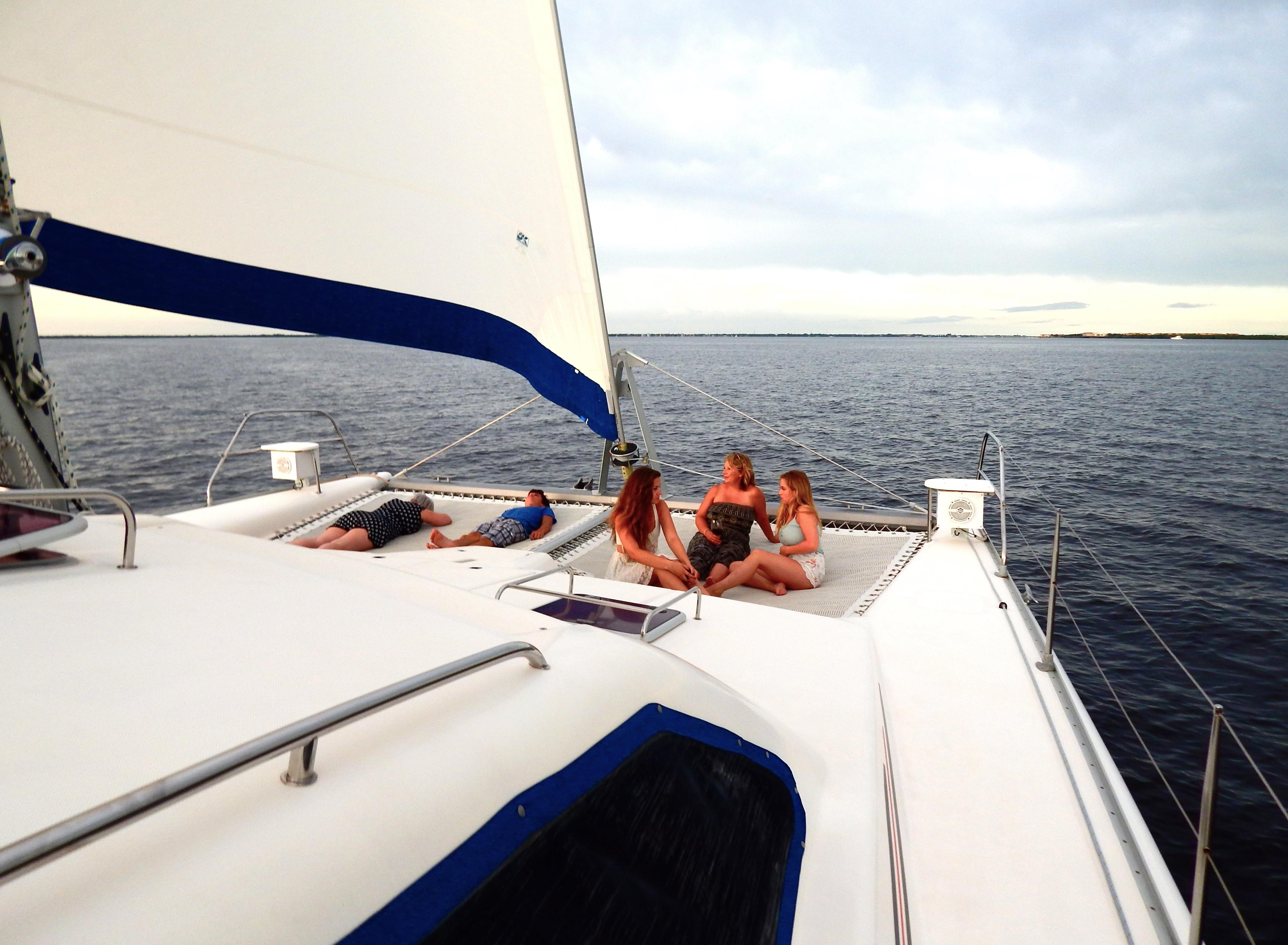 Catalina 310 under sail